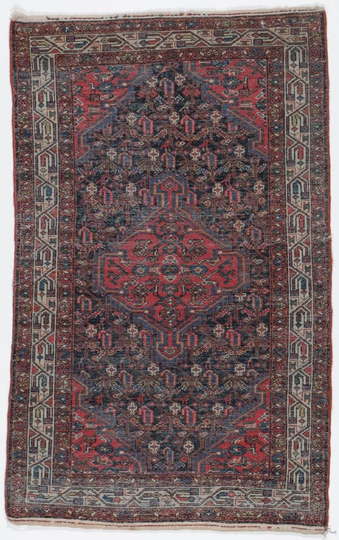 Antique Malayer Rug, Persia: 3'2'' x 5'0'' - 6