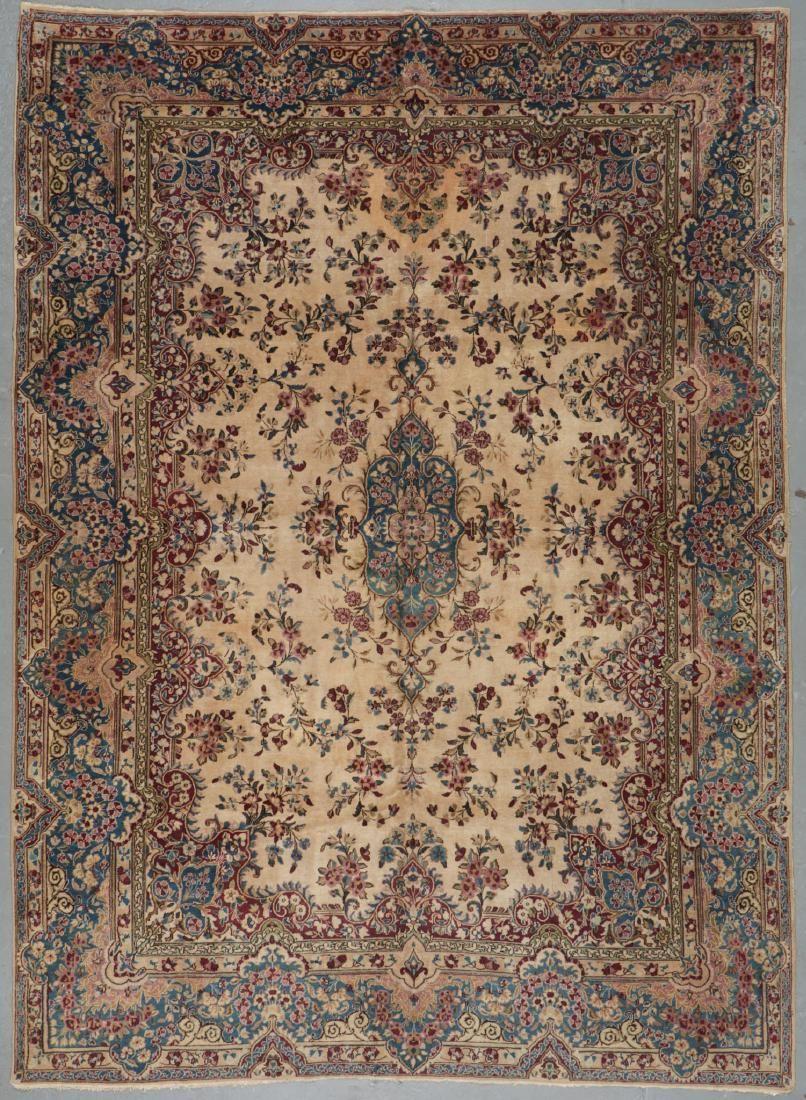 Semi-Antique Kerman Rug, Persia: 8'8'' x 12'1''