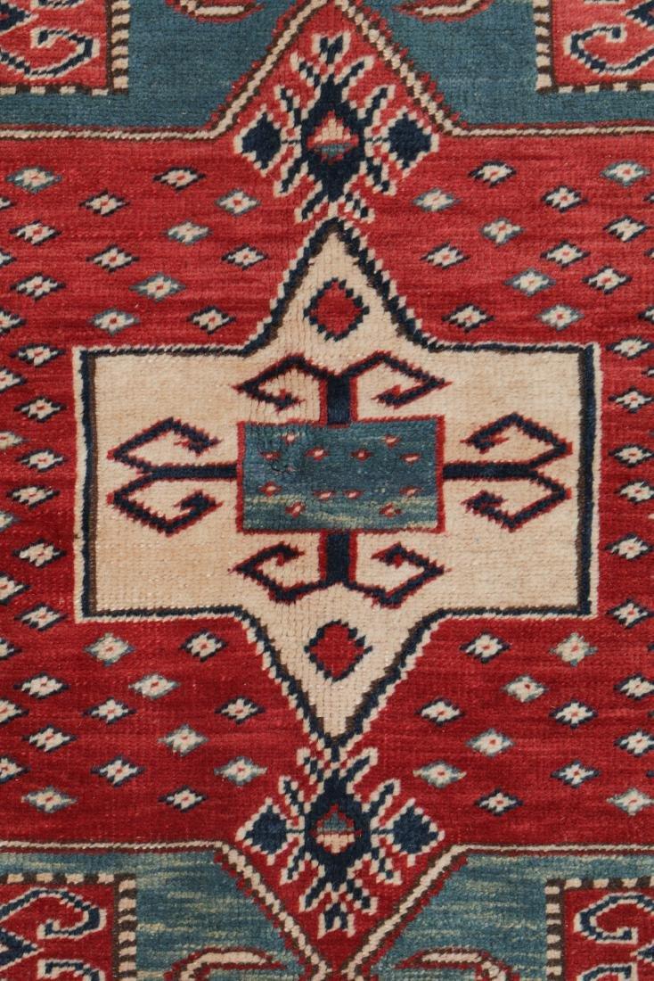 Vintage Kazak Rug, Turkey: 5'3'' x 6'11'' - 2