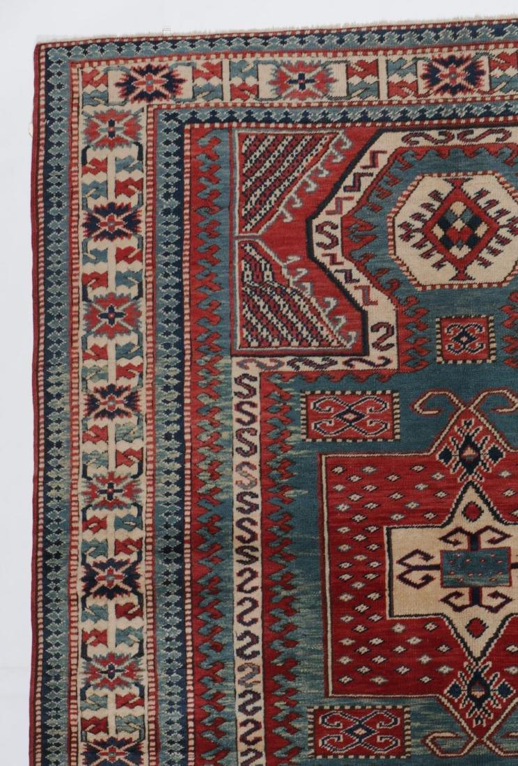 Vintage Kazak Rug, Turkey: 5'3'' x 6'11'' - 3