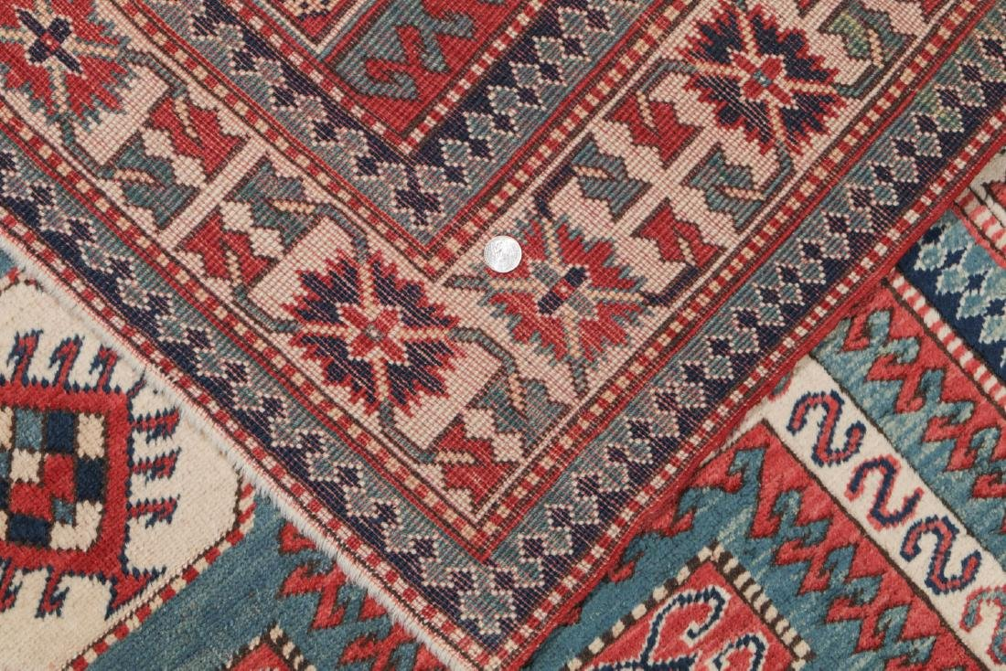 Vintage Kazak Rug, Turkey: 5'3'' x 6'11'' - 5