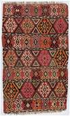 Antique Shirvan Kilim, Caucasus: 5'2'' x 8'7''