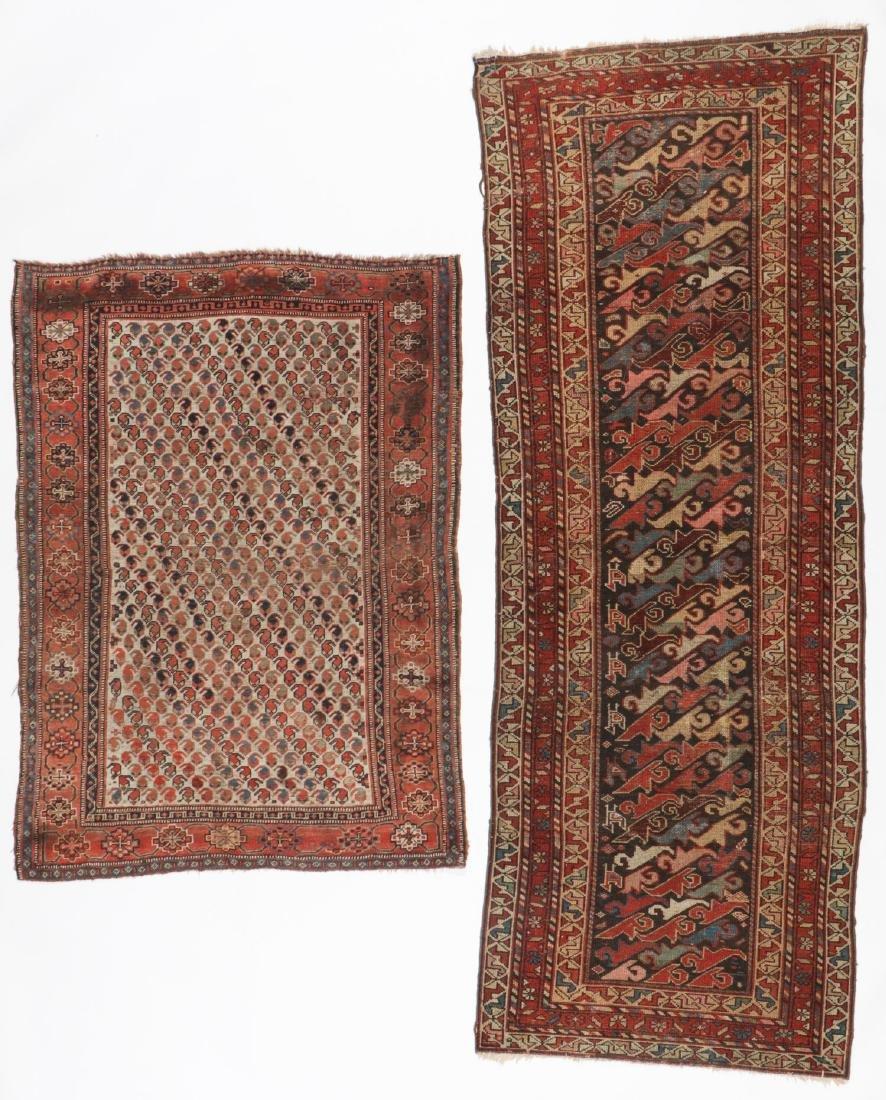 2 Antique Persian Rugs