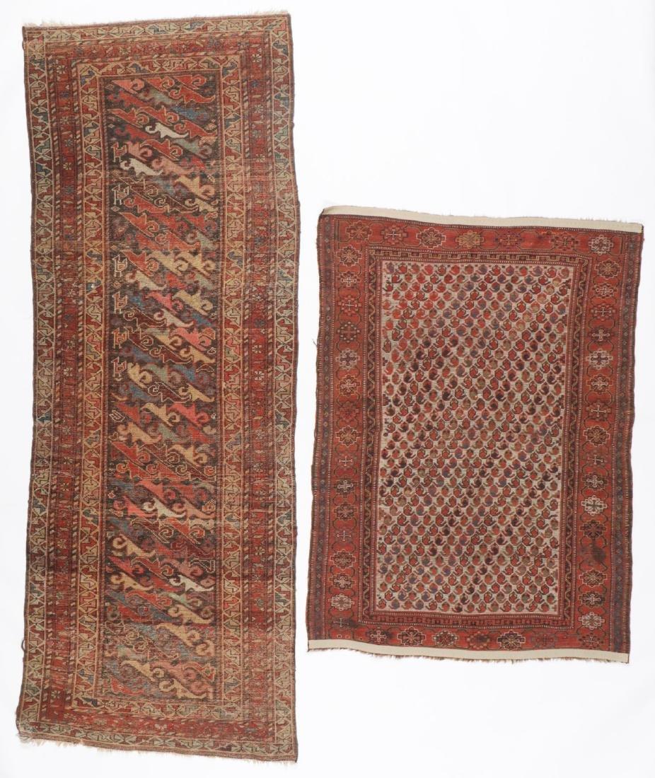2 Antique Persian Rugs - 5