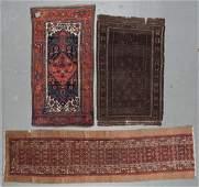 3 Antique Estate Rugs