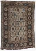 Antique Kuba Rug, Caucasus: 3'2'' x 4'6''