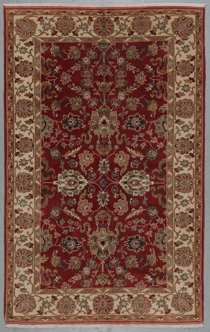 Vintage Oushak Rug, Turkey: 6'1'' x 9'7''