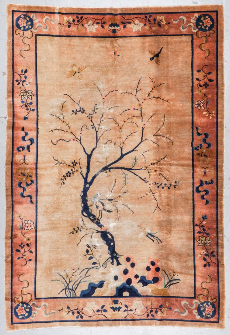 Antique Chinese Rug: 5'11'' x 8'8''