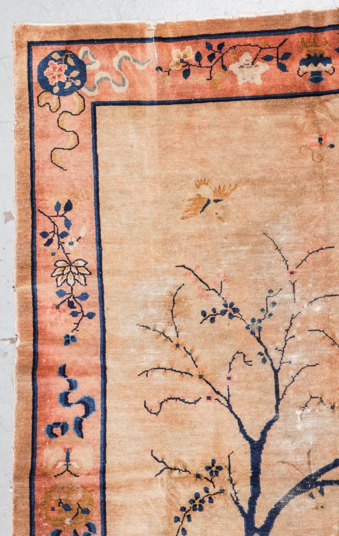 Antique Chinese Rug: 5'11'' x 8'8'' - 2