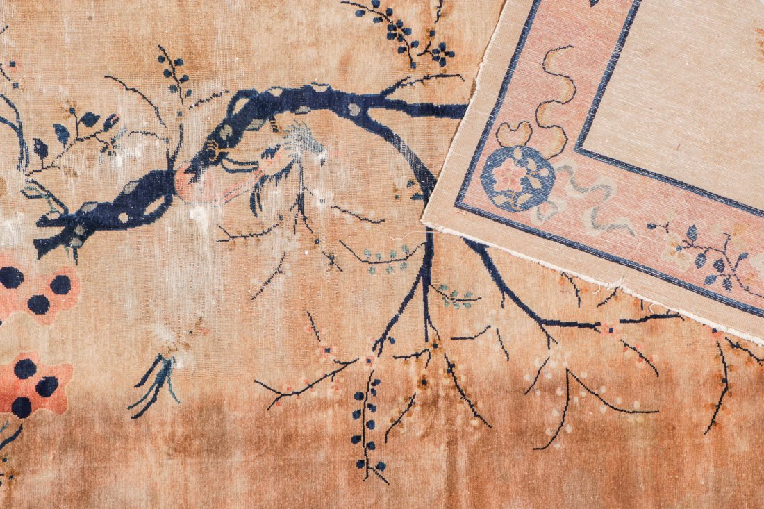Antique Chinese Rug: 5'11'' x 8'8'' - 4