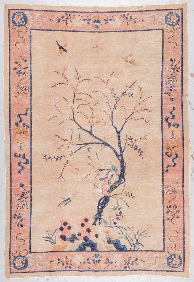 Antique Chinese Rug: 5'11'' x 8'8'' - 7