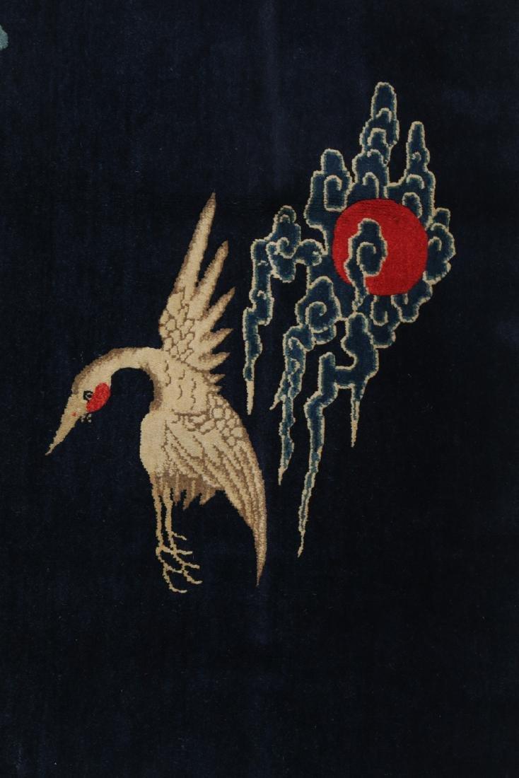 19th C. Peking Pictorial Rug, China: 8'3'' x 4'10'' - 3