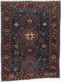 Antique Shirvan Rug: 4'6'' x 5'10''