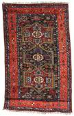 Antique East Anatolian Kurd Rug: 4'1'' x 6'9''