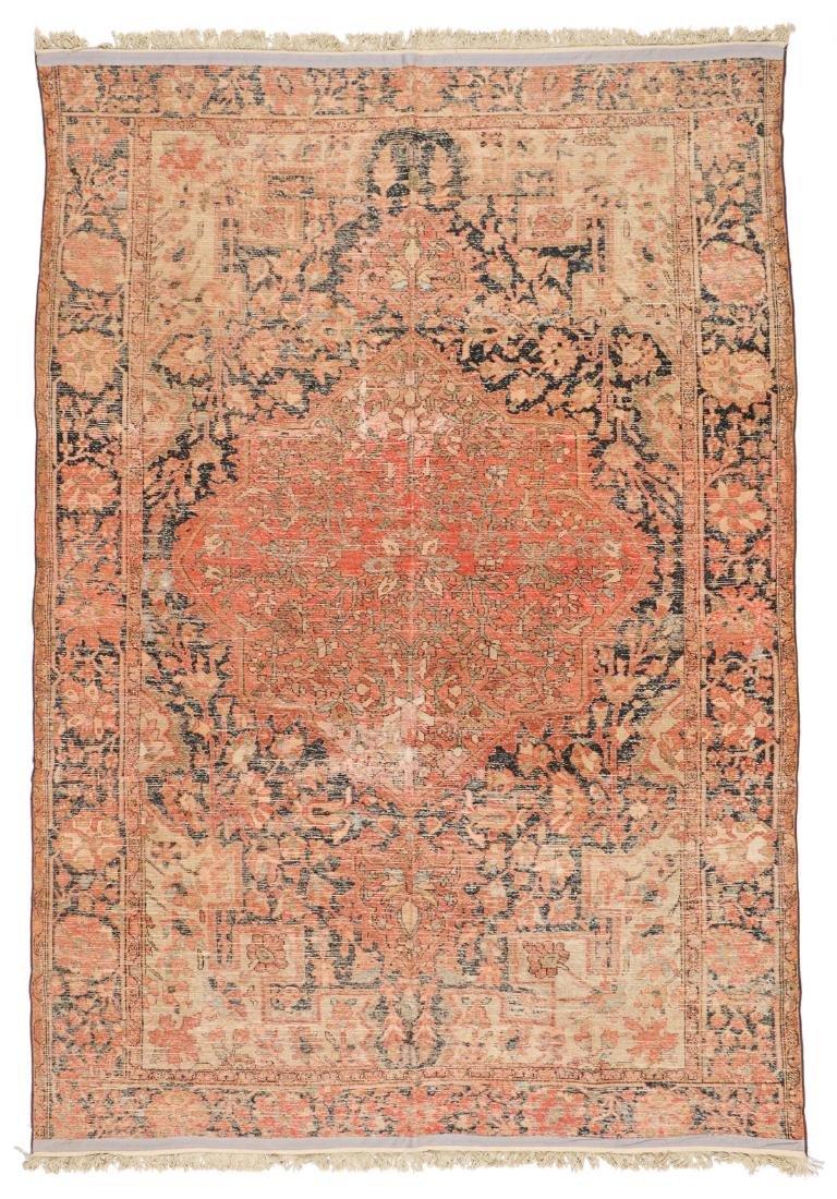 Antique Malayer Rug: 6'6'' x 9'4'' - 6