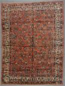 SemiAntique Sarouk Rug 90 x 1110