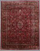 Semi-Antique Sarouk Rug: 10'6'' x 13'4''