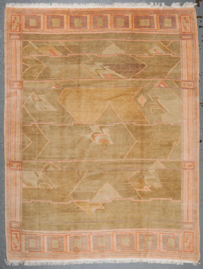 Modern Tibetan Rug: 9'8'' x 12'7''