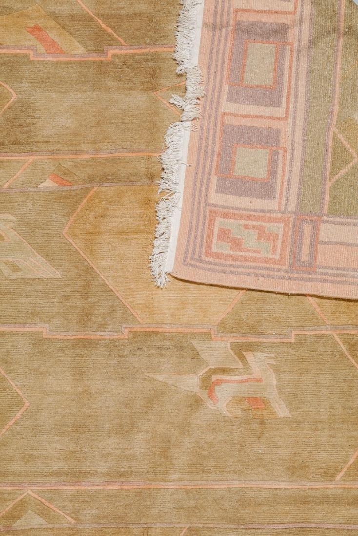 Modern Tibetan Rug: 9'8'' x 12'7'' - 2