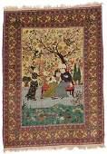 Kashan Pictorial Rug, Persia