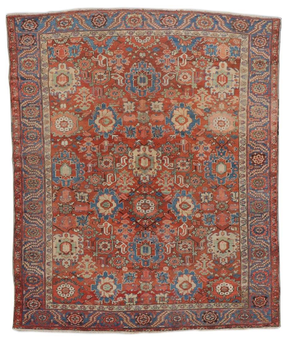 Heriz Rug, Persia: 9'6'' x 11'2''
