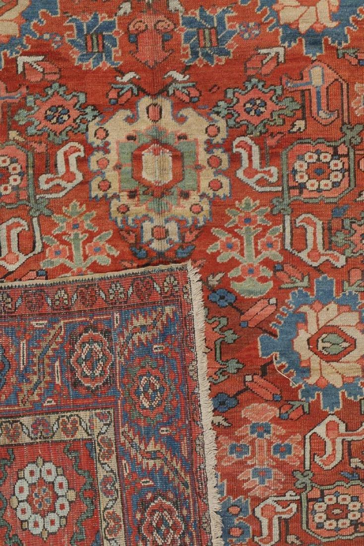 Heriz Rug, Persia: 9'6'' x 11'2'' - 4