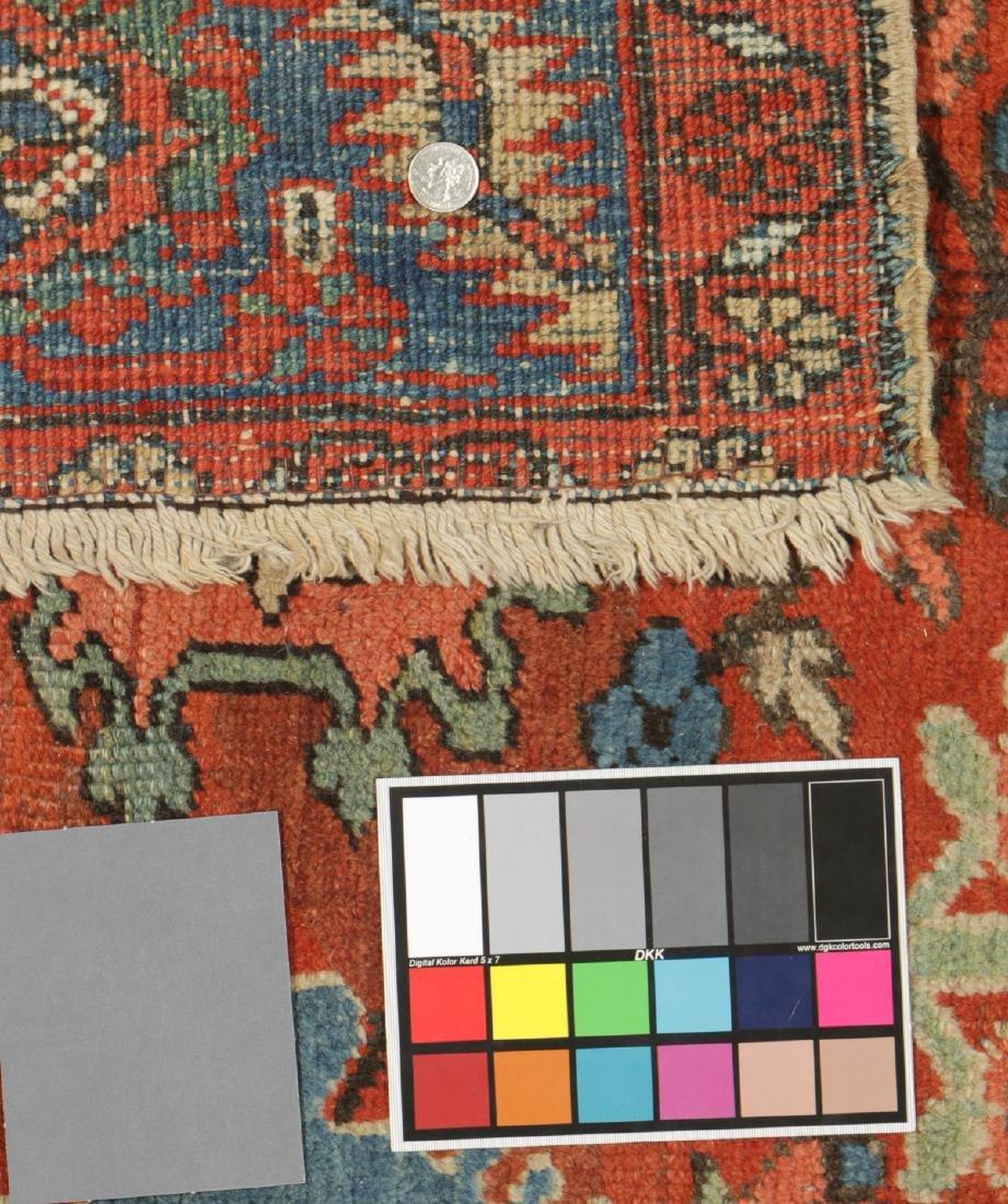 Heriz Rug, Persia: 9'6'' x 11'2'' - 5