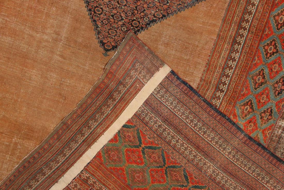 Mansion-Size Persian Patchwork Carpet, 14'7'' x 25'7'' - 5