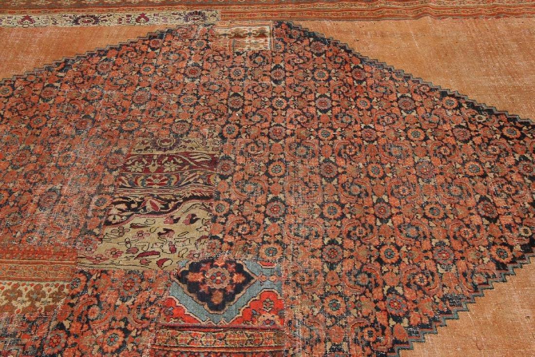 Mansion-Size Persian Patchwork Carpet, 14'7'' x 25'7'' - 7