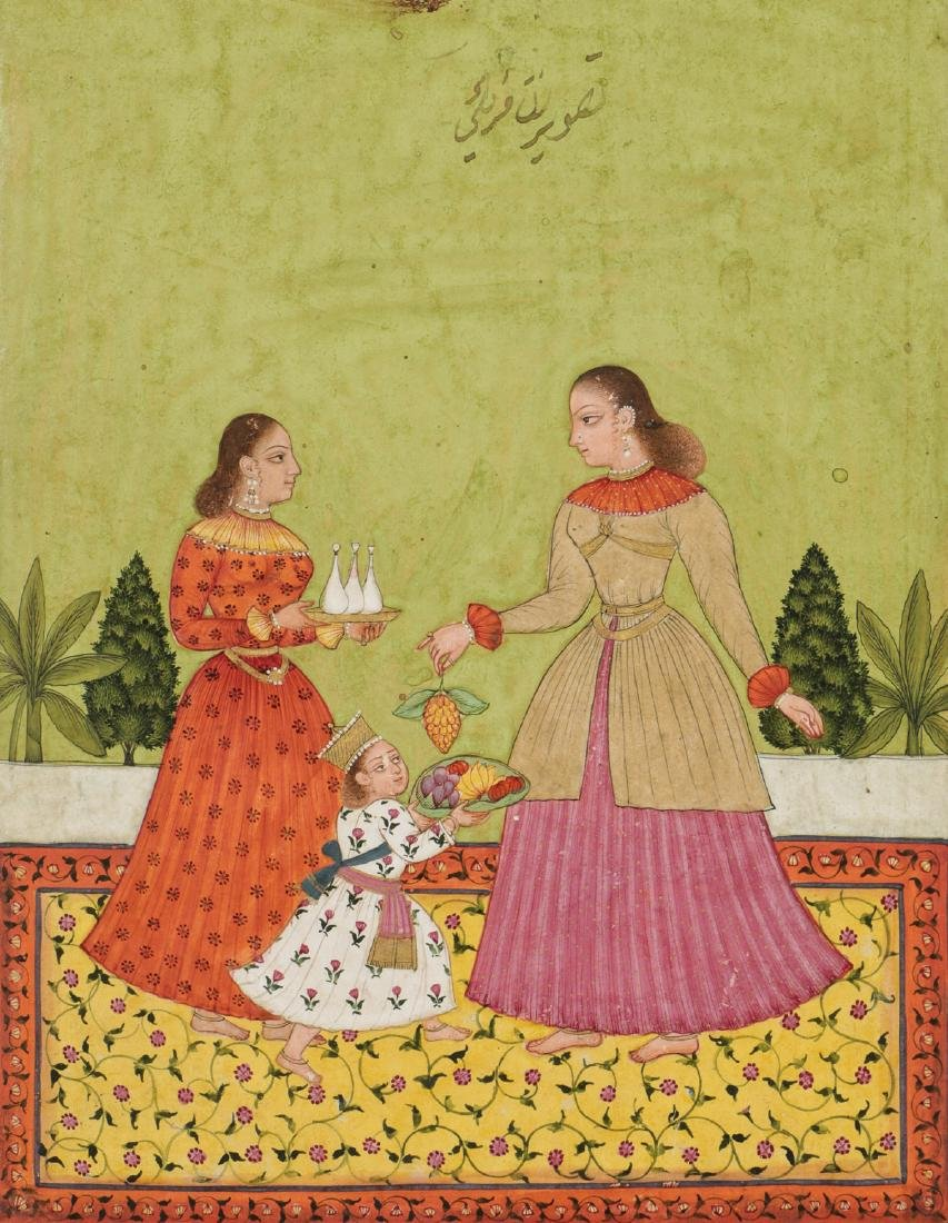Fine Indian School Painting