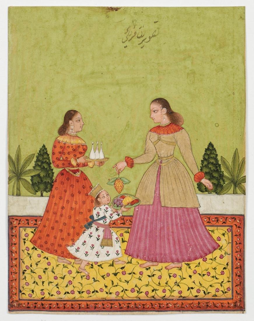 Fine Indian School Painting - 2