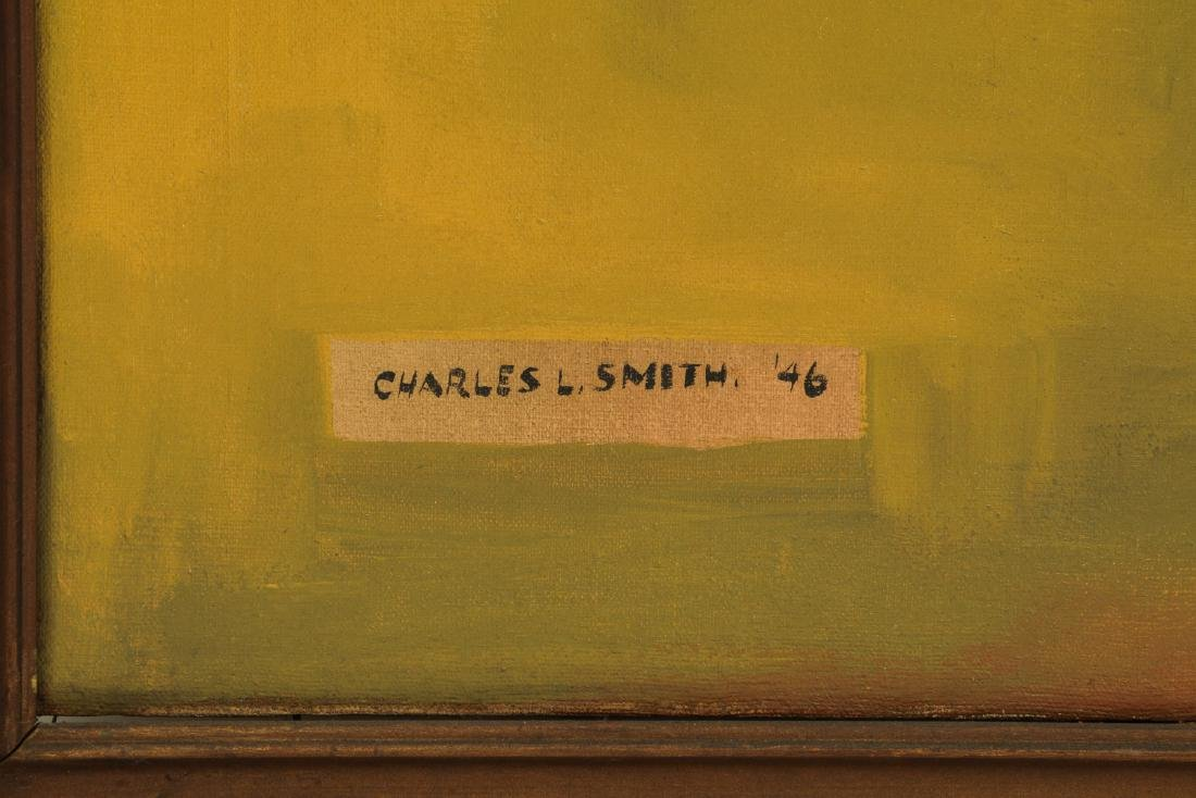 """Charles L. Smith 1946 painting """"Lena Horne"""" - 3"""