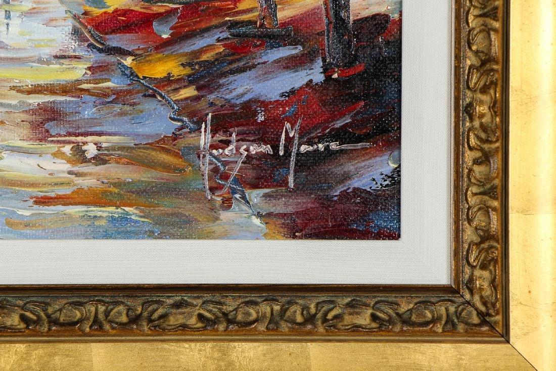 Hudson Mora (20th c.) Landscape Painting - 3