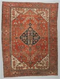 Antique Serapi Rug, Persia: 9'4'' x 12'3''