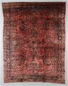 Antique Sarouk Rug Persia 108 x 138