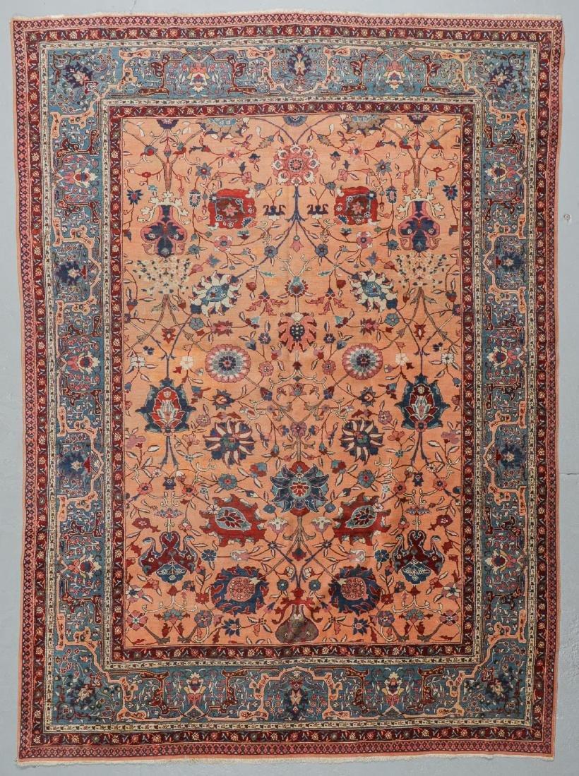 Semi-Antique Tabriz Rug, Persia: 9'10'' x 13'3''