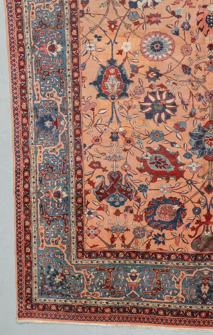 Semi-Antique Tabriz Rug, Persia: 9'10'' x 13'3'' - 3