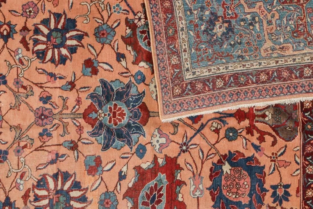 Semi-Antique Tabriz Rug, Persia: 9'10'' x 13'3'' - 4
