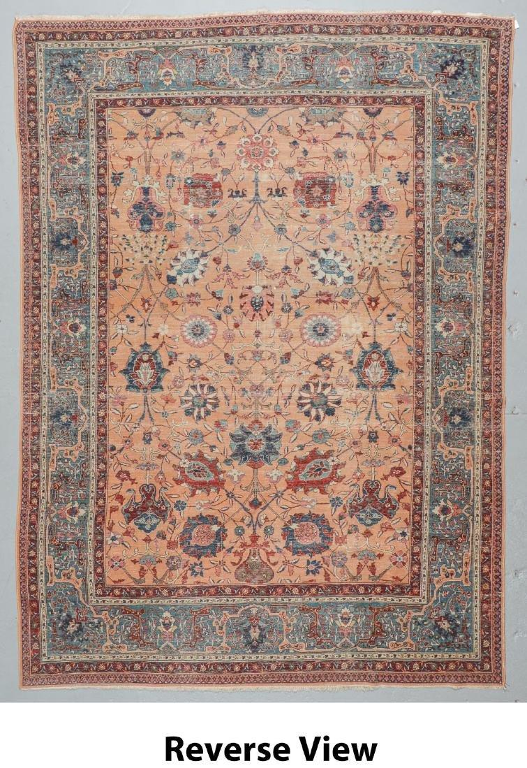 Semi-Antique Tabriz Rug, Persia: 9'10'' x 13'3'' - 6