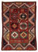 Vintage Bordjalou Kazak Rug, Caucasus: 5'1'' x 6'11''