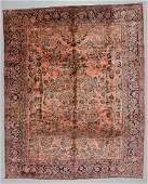 Antique Sarouk Rug Persia 90 x 111