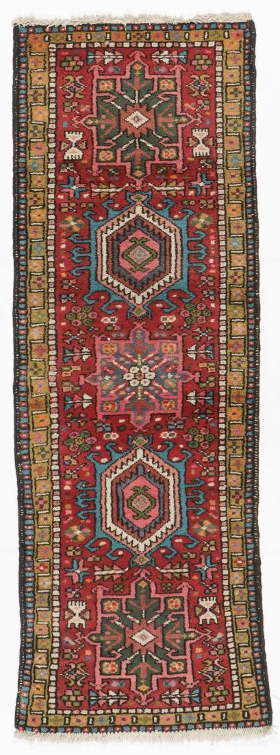 Semi-Antique Heriz Rug, Persia: 2'1'' x 6'1''
