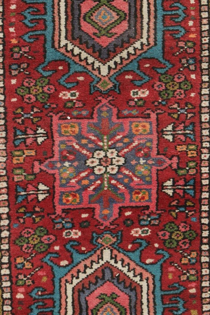 Semi-Antique Heriz Rug, Persia: 2'1'' x 6'1'' - 2