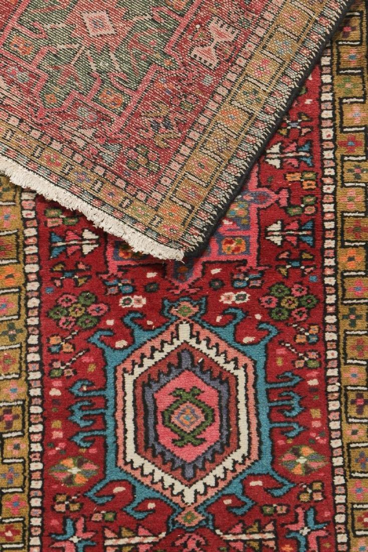 Semi-Antique Heriz Rug, Persia: 2'1'' x 6'1'' - 5