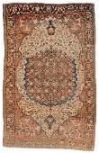 Antique Ferahan Sarouk Rug, Persia: 4'2'' x 6'6''