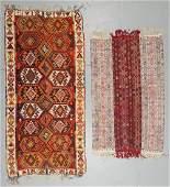 2 Semi-Antique Turkish Kilims