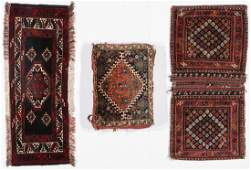 3 Antique West Persian Trappings