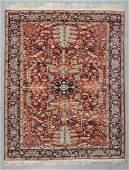Vintage Serapi Style Rug, Turkey: 7'4'' x 9'1''