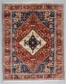 Vintage Serapi Style Rug, Turkey: 7'11'' x 9'10''