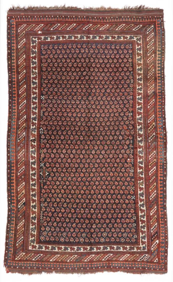 Antique Khamseh Rug, Persia: 5'5'' x 9'1''